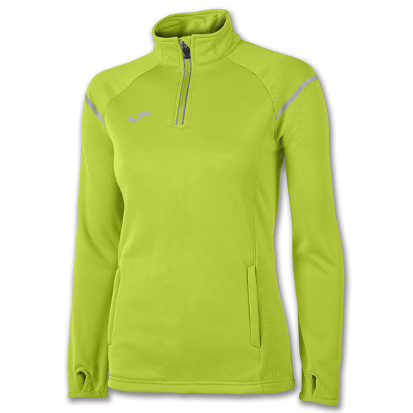 Joma Felpa Zipper Race Lime Woman