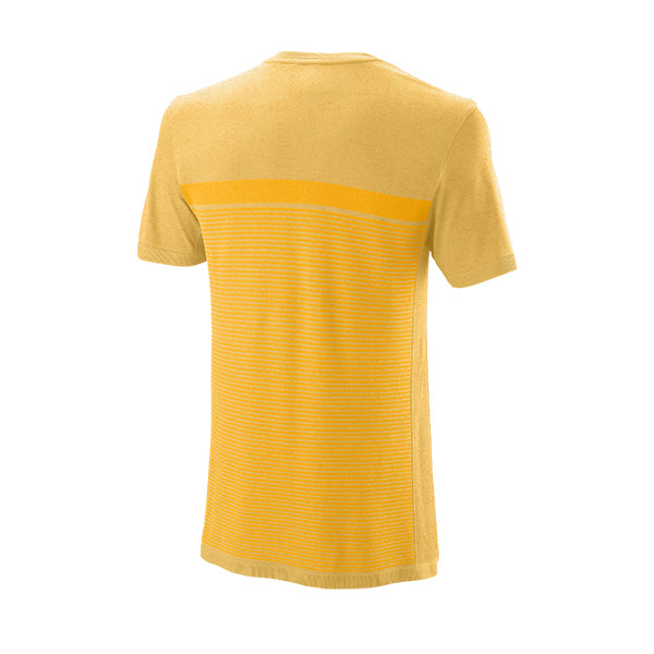 Wilson T-shirt Men's Bela Seamless Gold Fusion
