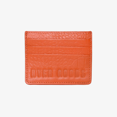 Card Wallet Flame Croc - HYER GOODS