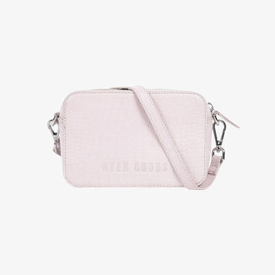 Camera Bag Almost Pink Croc - HYER GOODS
