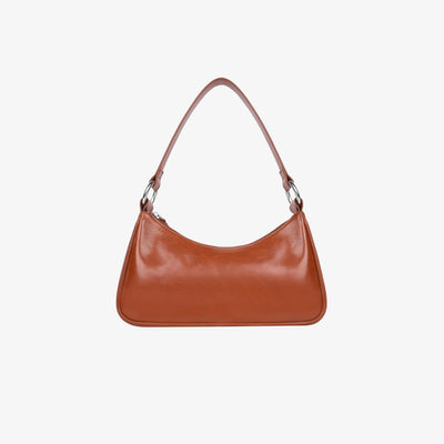 Mini Shoulder Bag Tan Glazed Buffalo - HYER GOODS