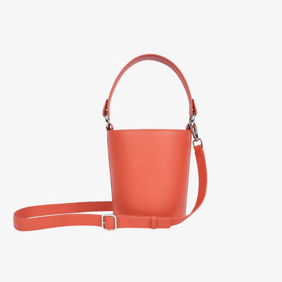 Mini Bucket Bag Coral-ish - HYER GOODS