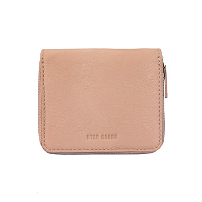 Zip Wallet Dusty Rose - HYER GOODS