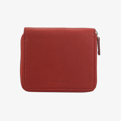 Zip Wallet Red - HYER GOODS