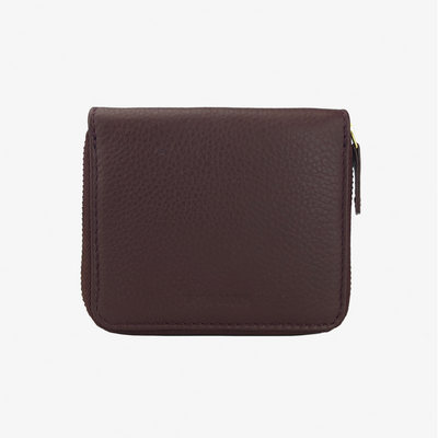 Zip Wallet Burgundy - HYER GOODS