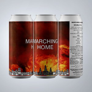 Marching Home - 8.0% Double IPA