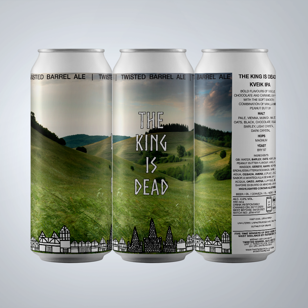 The King Is Dead - 4.6% Kveik IPA
