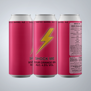 Shock Me - 4.5% Sour Orange IPA