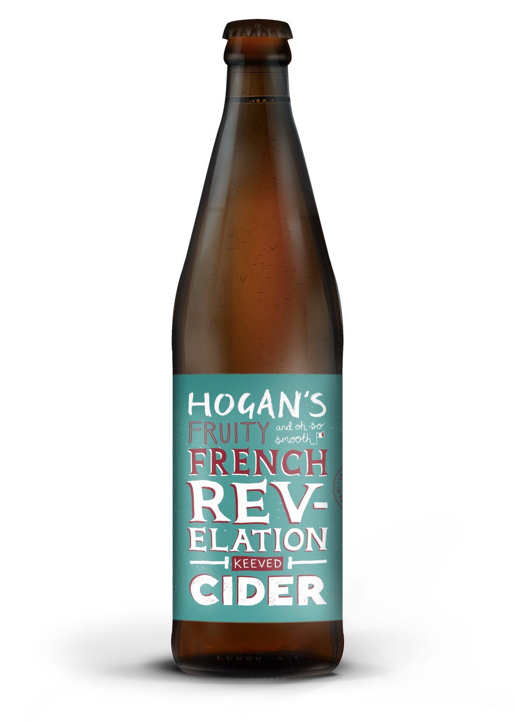 Hogan's French Revelation Cider 4.8% - 500ml Bottle