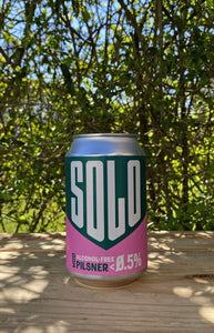 West Berkshire Solo 0.5% AF Pilsner - 330ml Can