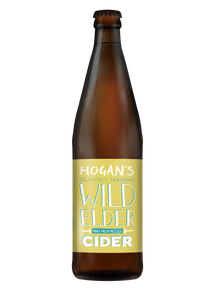Hogan's Wild Elder Cider 4.0% - 500ml Bottle
