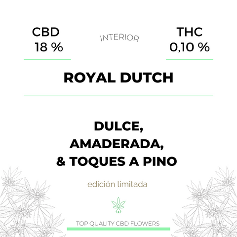 Royal Dutch 18% CBD