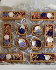 1/2 Doz Cheesecake Tarts (Rectangles) Elegant Temptations Bakery