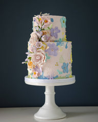 Buttercream Floral Elegant Temptations Bakery