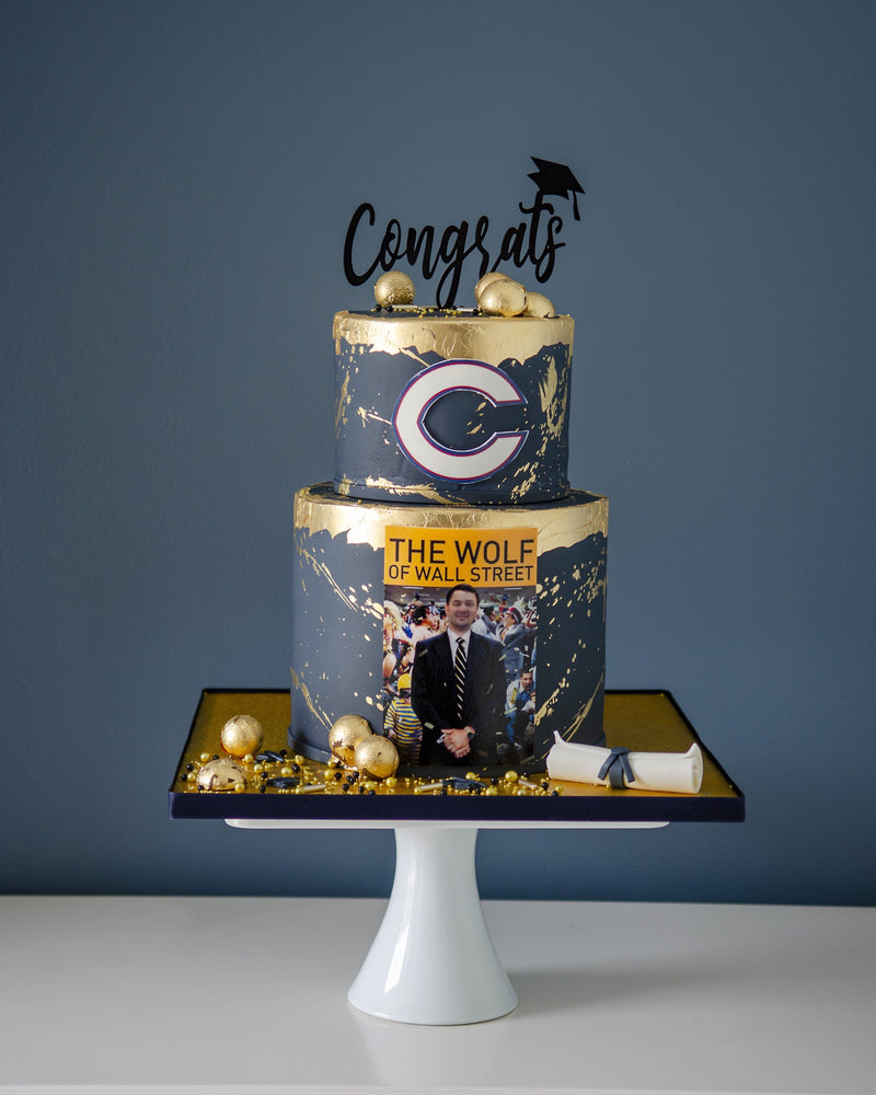 Graduation - Wolf of Wall street Elegant Temptations Bakery