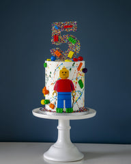 Lego Birthday Elegant Temptations Bakery