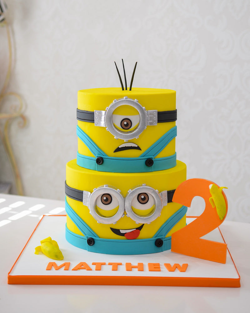 Minion - Mathew Elegant Temptations Bakery