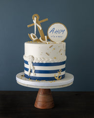 Nautical - It's a Boy! Elegant Temptations Bakery