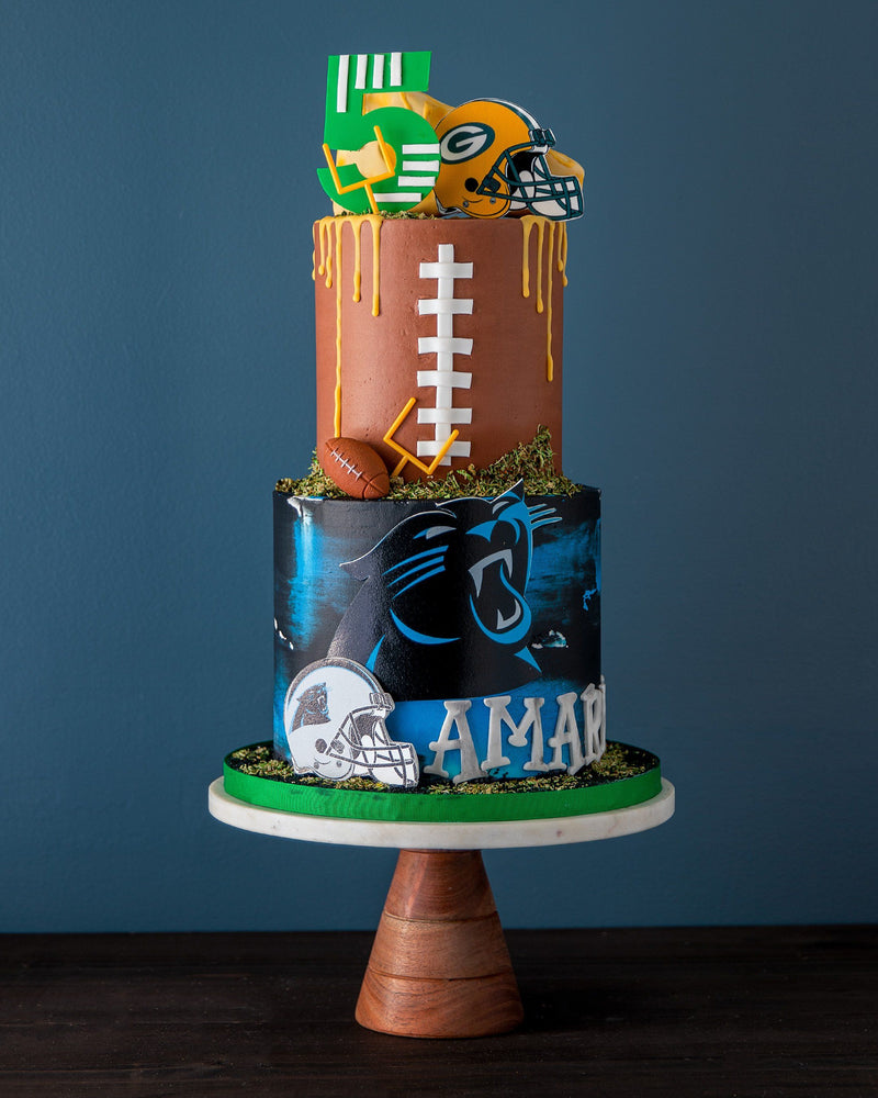 NFL Football Cake Elegant Temptations Bakery