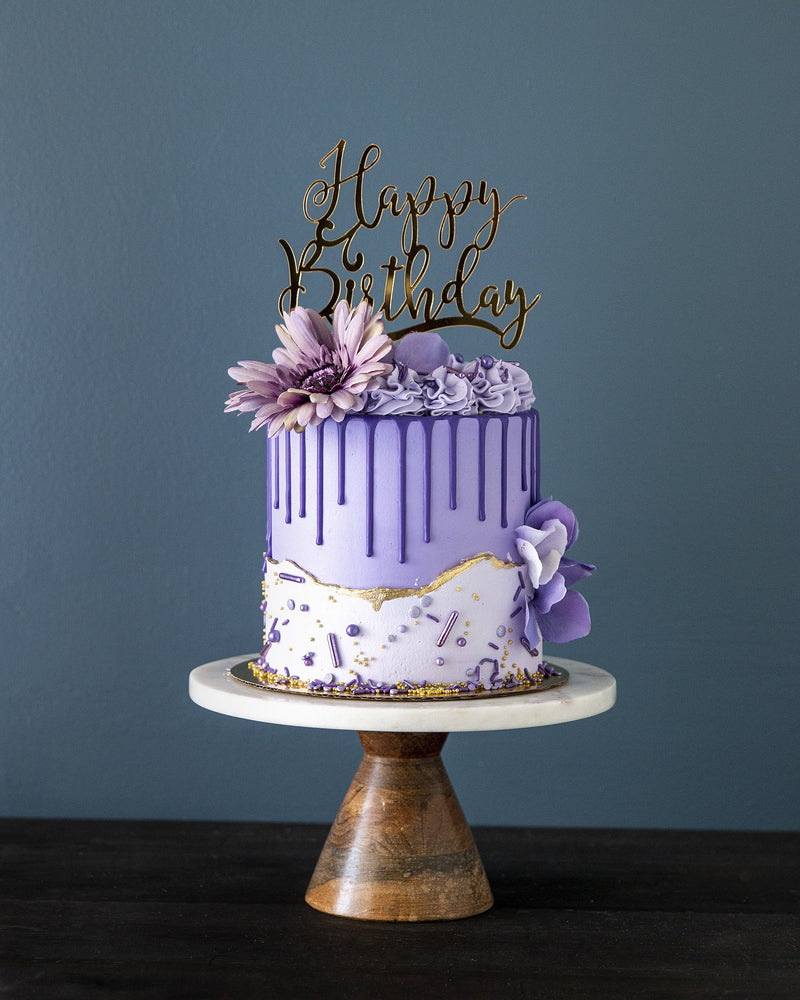 Purple Passion Elegant Temptations Bakery