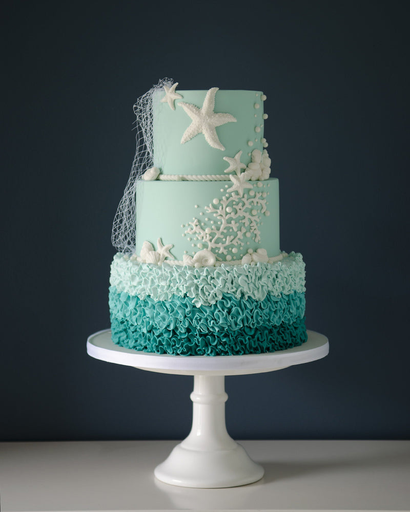 Seaside Wedding Elegant Temptations Bakery