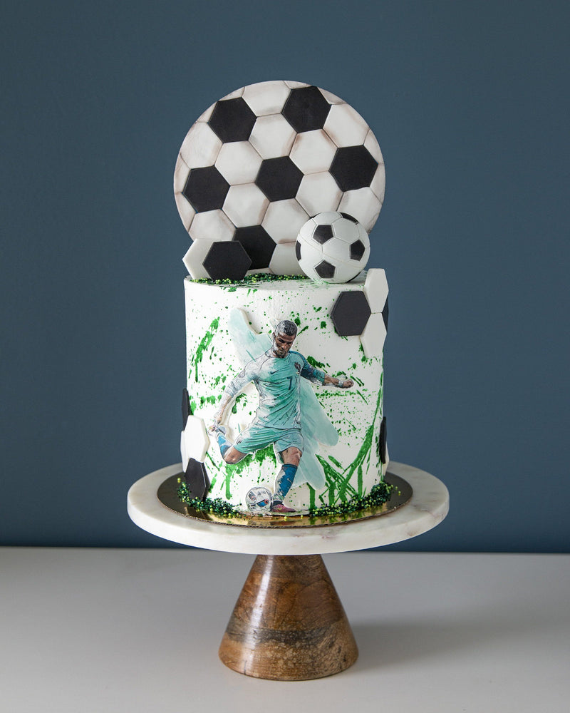 Father's Day Cake Soccer Dad Elegant Temptations Bakery
