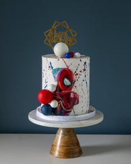 Spiderman Elegant Temptations Bakery
