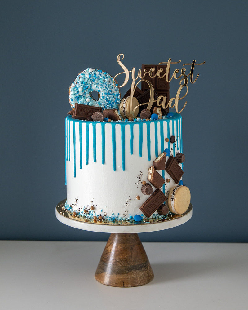 Father's Day Cake  Sweetest Dad Elegant Temptations Bakery