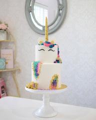 Unicorn - Geode Elegant Temptations Bakery