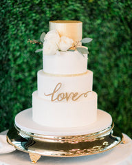 Wedding Love Elegant Temptations Bakery