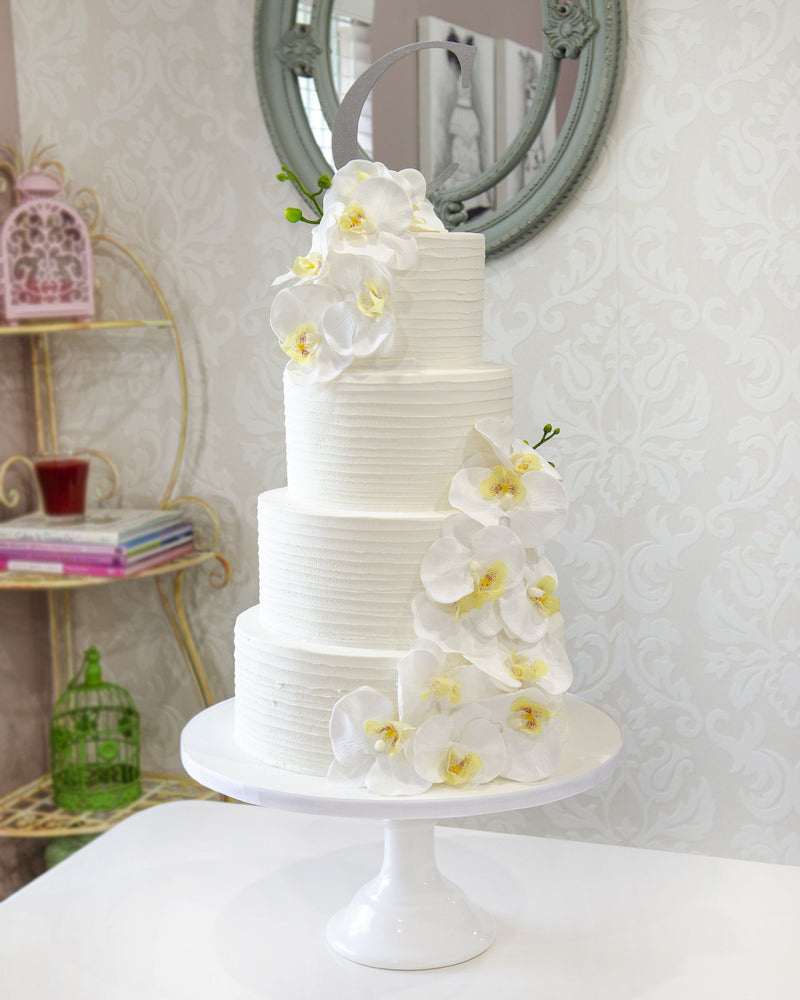 Wedding - Orchids Elegant Temptations Bakery