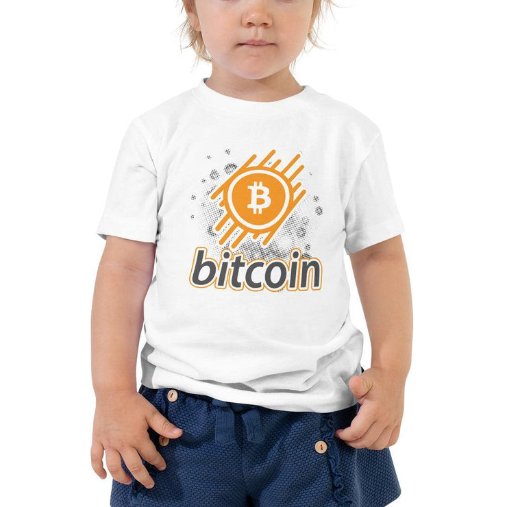 Bitcoin Cryptocurrency Toddler Short Sleeve Tee