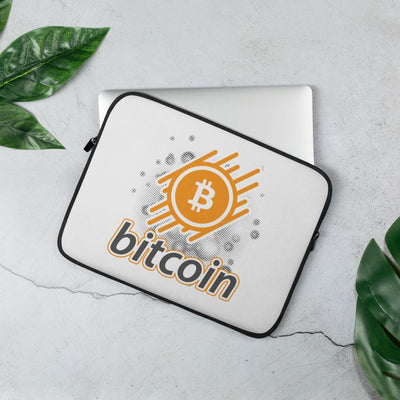 Bitcoin Cryptocurrency Laptop Sleeve