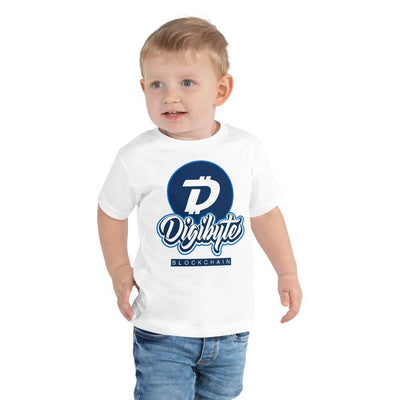 Digibyte Cryptocurrency Toddler Short Sleeve Tee