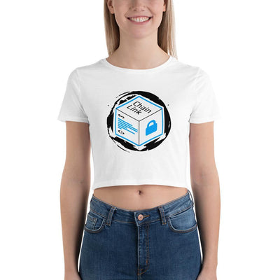 Chainlink Cryptocurrency Women's Crop Tee