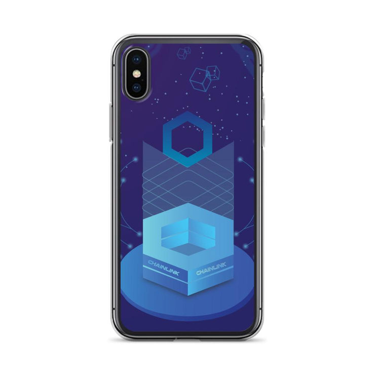 Chainlink Cryptocurrency iPhone Case