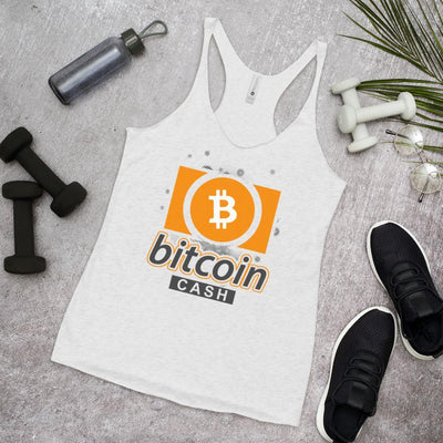 Bitcoin Cash Cryptocurrency Women's Racerback Tank