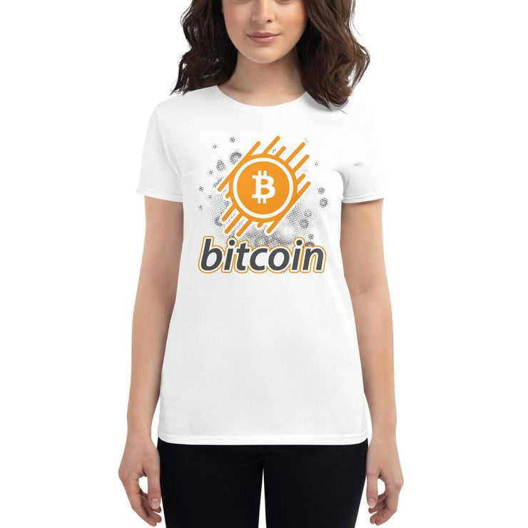 Bitcoin Cryptocurrency Women's short sleeve t-shirt