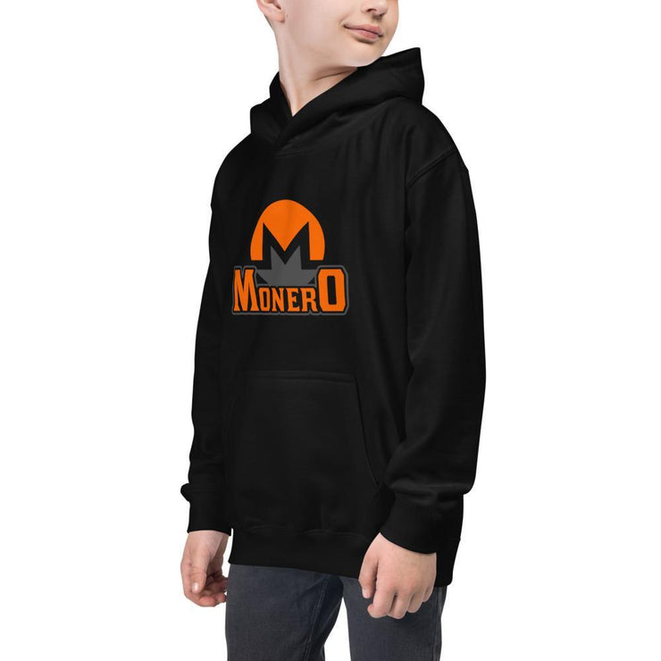 Monero Cryptocurrency Kids Hoodie