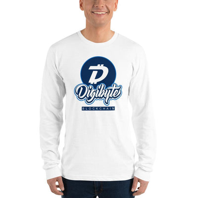 Digibyte Cryptocurrency Long sleeve t-shirt