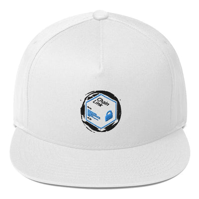 Chainlink Cryptocurrency Flat Bill Cap