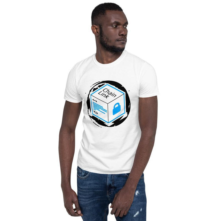 Chainlink Cryptocurrency Short-Sleeve T-Shirt