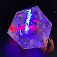 Saber D20 Purple-Red
