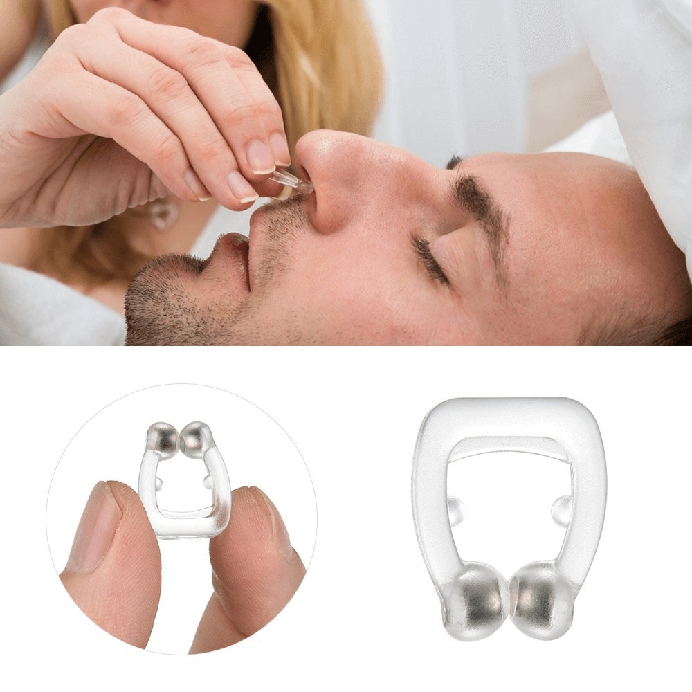 How To Insert Anti Snore Nose Clip