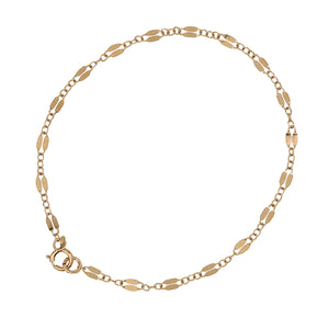 Dapper Chain Bracelet - Gold