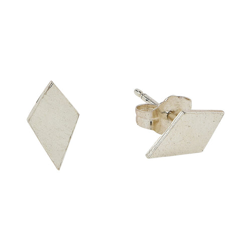 Diamond Charm Earring Studs