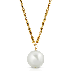 Pearl + Gold Necklace