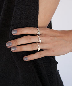 Diamond Charm Ring
