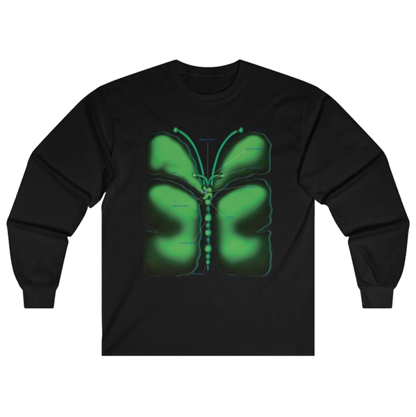 Anatomy of a Butterfly Long Sleeve Shirt