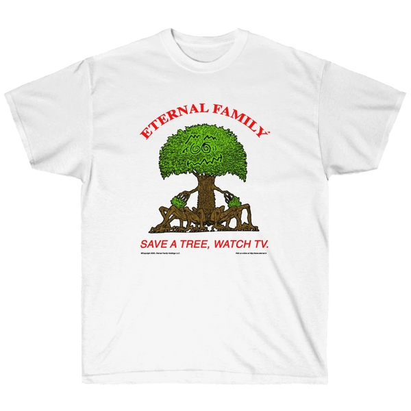 Save A Tree Watch TV Shirt